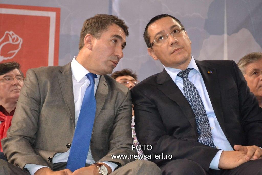 Victor Ponta îi spulberă visul lui Ionel Arsene pentru alegerile locale