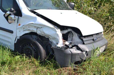 Un moş beat şi fără permis a comis un accident la Agapia