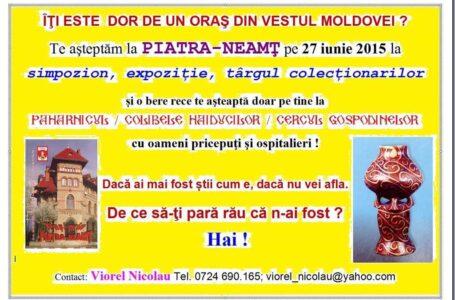 Piatra-Neamț devine capitala colecționarilor din România!