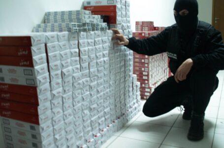 Captură de 2.000 pachete de țigări de contrabandă în Piatra-Neamț