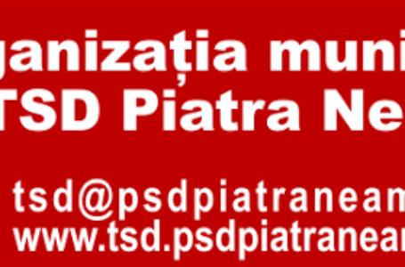 Valeriu Stăcescu, noul președinte al TSD Piatra-Neamț