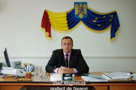 Vlad Anghleluță a fost schimbat din funcția de prefect. Noul prefect este Niculina Dobrilă!