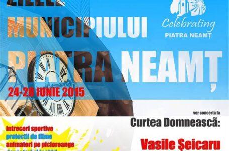 Iris, Mihai Mărgineanu și Giulia vin la Zilele municipiului Piatra Neamț