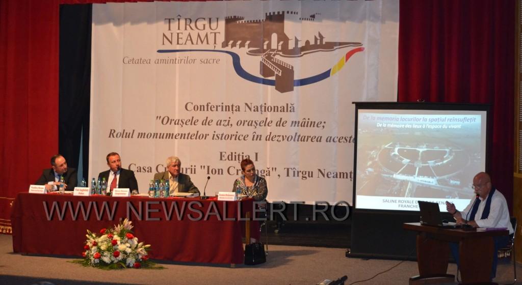 Târgu Neamț – gazda conferinței naționale pe teme de patrimoniu cultural. Invitat special, europarlamentarul Mircea Diaconu! (foto-galerie)