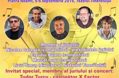"""Câștigătorul X-FACTOR, jurat la Festivalului Național de Muzică pentru Copii """"VIVA ALLEGRIA"""" Piatra-Neamț"""