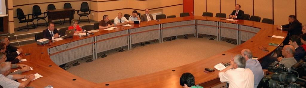 Ședința Colegiului Prefectural, între social și agricultură