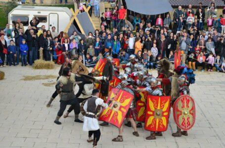 Curtea Domnească, gazda unor scene de luptă cu săbii și furci (galerie foto)