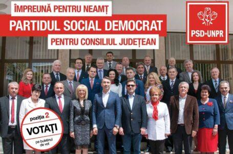 Echipa PSD pentru județul Neamț
