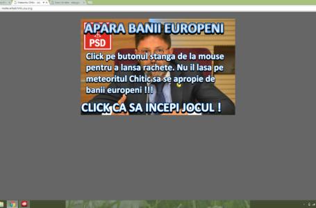 D'ale campaniei! Joc on-line în care Dragoș Chitic se confruntă cu Liviu Harbuz!
