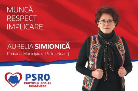 Ce nu promite Aureliei Simionică locuitorilor din Piatra Neamț!