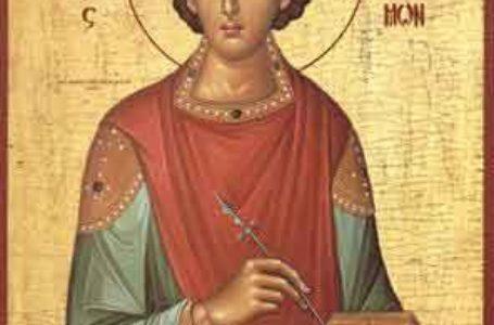 Procesiune religioasă la Piatra Neamț cu ocazia sărbătorii Sfântului Ioan Botezătorul
