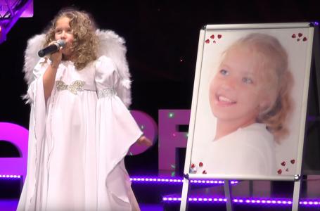 """Adelina Timofte – fetița cu părul bălai și voce de înger! Povestea tristă din spatele melodiei """"Copil și … înger""""!"""