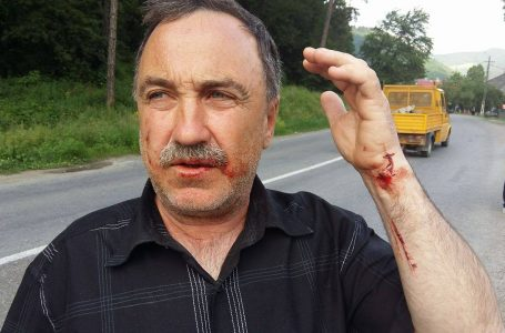 Conflict sângeros post-electoral la Tarcău!