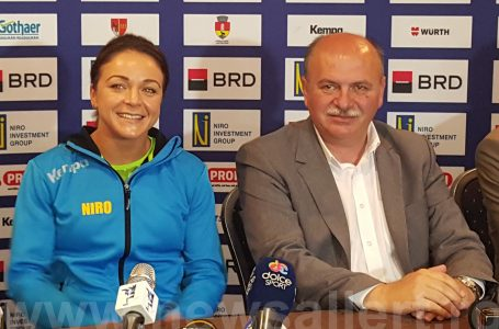 Handbal feminin: România – Belarus, sâmbătă, la Sala Polivalentă din Piatra Neamț! Sponsorul FRH pune 1.000 de euro la bătaie pentru suporteri!