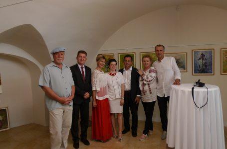 Ia românească a fost sărbătorită la Bratislava de artistul plastic nemțean Ioan Popei