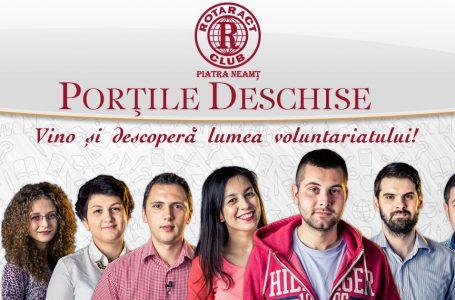 Lumea voluntariatului rotaractian își deschide porțile!