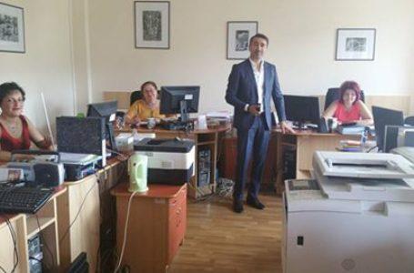 Ionel Arsene a luat la pas birourile din Consiliul Județean
