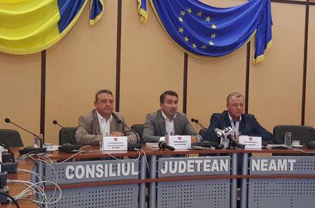 Președintele Consiliului Județean Neamț, Ionel Arsene, a delegat unele atribuții vicepreședinților (comunicat de presă)