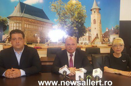 Conferință de presă la Primăria Piatra Neamț