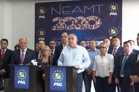 PNL Neamț, protest cu amenințări de contestare a alegerii președintelui CJ Neamț