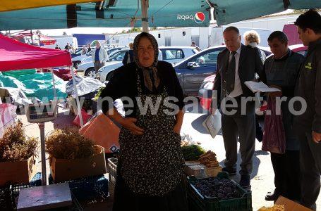 Inspectorii ANAF au luat la puricat comercianții de pepeni și varză din piața en-gros Piatra Neamț! (foto-galerie)