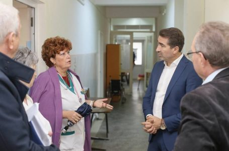 Președintele Arsene cere urgentarea lucrărilor de reabilitare la spital. A promis deblocarea posturilor de medici, asistente și infirmiere!