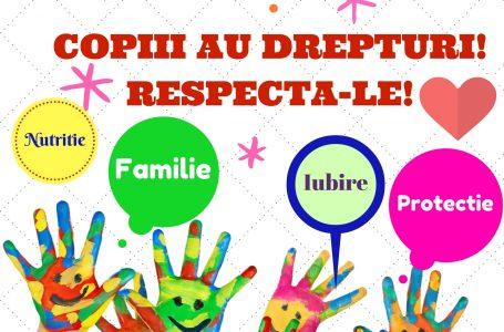 "Campanie DGASPC Neamț: ""Un copil informat, un copil protejat!"""
