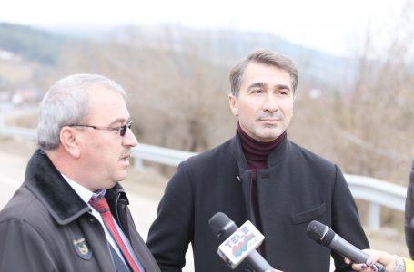 Președintele Consiliului Județean Neamț, Ionel Arsene, a inaugurat drumul comunal Pipirig – Dolia
