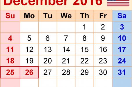 Ziua de 2 decembrie 2016 ar putea fi liberă prin decizia Guvernului!
