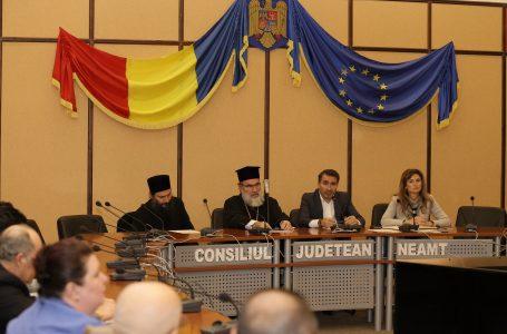 Prima întâlnire a Consiliului Consultativ Cultural ce funcționează pe lângă Consiliul Județean Neamț