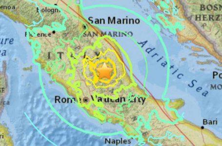 Un nou cutremur de 5 grade a avut loc în Italia