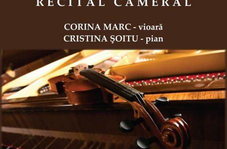 """Seară de muzică camerală la Liceul de Arte """"Victor Brauner"""" Piatra Neamț"""