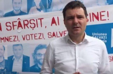 Nicușor Dan, liderul Uniunii Salvați România, vine în județul Neamț! Cine sunt capii de listă ai USR Neamț la parlamentare?!