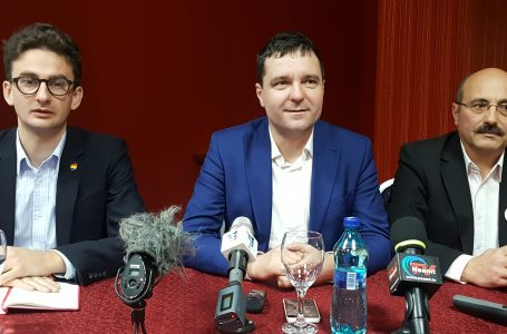 USR își lansează candidatul la Primăria municipiului Roman în prezența președintelui Nicușor Dan