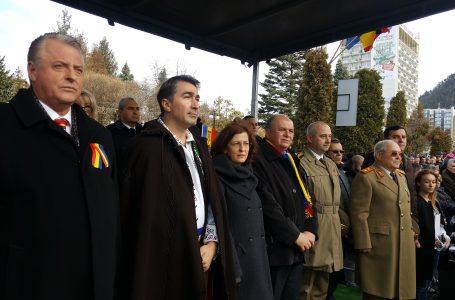 Momente emoționante în centrul municipiului Piatra Neamț! Mii de pietreni au participat la Ziua Națională a României!