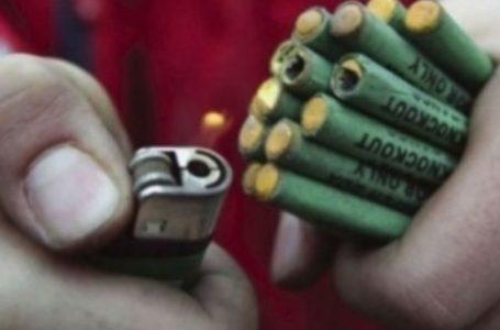 Aproape 3.000 de petarde găsite în casa unui tânăr din Gârcina