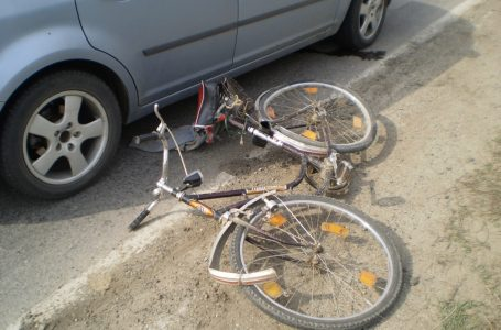 Biciclist accidentat mortal la Brusturi