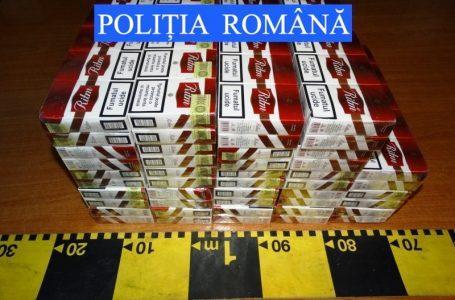 Captură de aproape 6.500 pachete de țigări de contrabandă la Roman