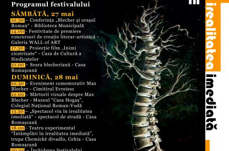 """Prima ediție a Festivalului Cultural Internațional """"Blecher Fest"""""""