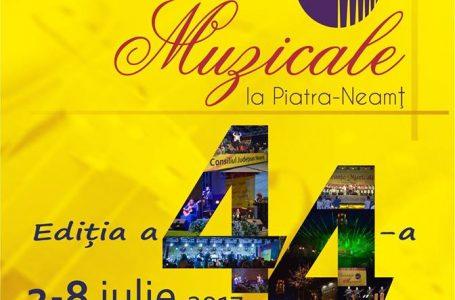 Duminică seara, de la ora 21.00, debutează Vacanțele Muzicale la Piatra-Neamț (programul complet)