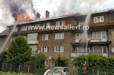 Ajutoare pentru familiile cu locuințele afectate de incendiul de la blocul din Piatra-Neamț