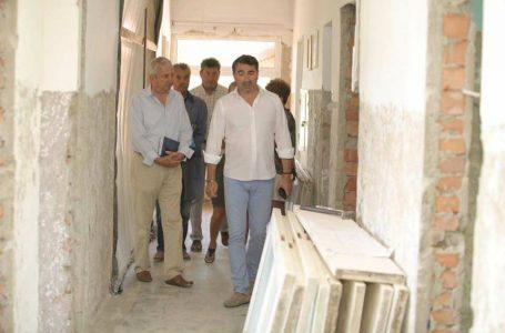 Inspecție la lucrările secției de pediatrie a Spitalului Județean de Urgență Piatra-Neamț
