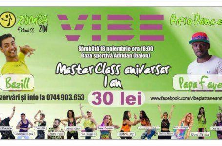 Master Class aniversar – 1 An de V.I.B.E. Piatra-Neamț