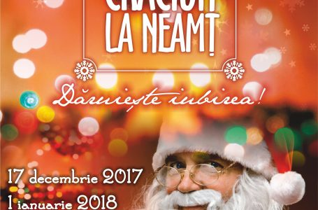 Ultimele pregătiri pentru Târgul de Crăciun la Neamț! Deschiderea oficială este pe 17 decembrie! Iată programul complet!