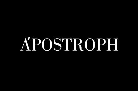 APOSTROPH' e aici!