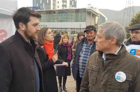 Dacian Cioloș, vizită pe PLUS cu USR Neamț