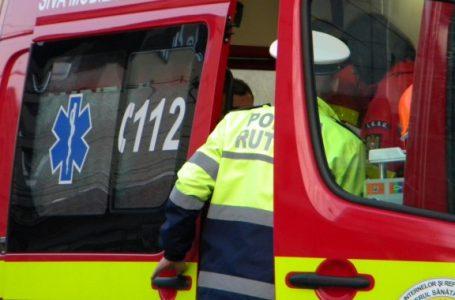 Accident cu un TIR, un microbuz și 2 autoturisme la Vânători-Neamț