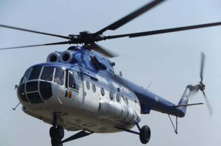 Traficul rutier din Neamț, supravegheat din elicopterul MAI (video)