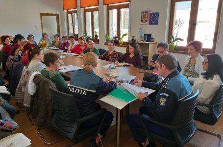 Poliția și DGASPC Neamț, instruiri pe tema intervenției în cazuri de violența domestică