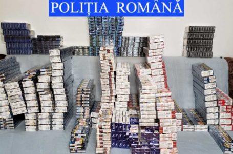 Captură de aproape 47.000 țigarete realizată de polițiștii din Neamț